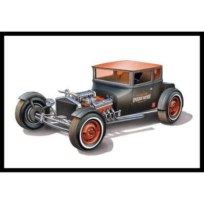 AMT 1/25 scale 1925 Ford Model T Chopped T model kit #1167/12