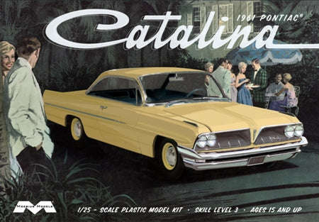 MOEBIUS 1/25 scale 1961 Pontiac Catalina kit#1217