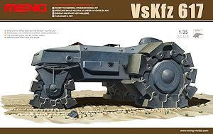 Meng 1:35 plastic kit of VsKfz 617 - SS001 - Assembly required