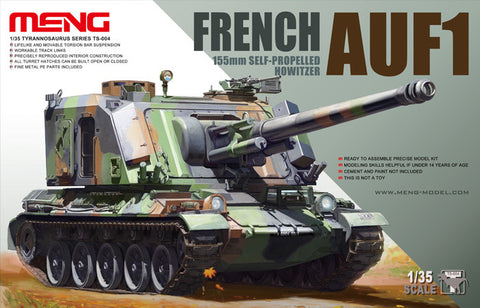 MENG 1/35 FRENCH AUF1 155mm SELF-PROPELLED HOWITZER - TS-004