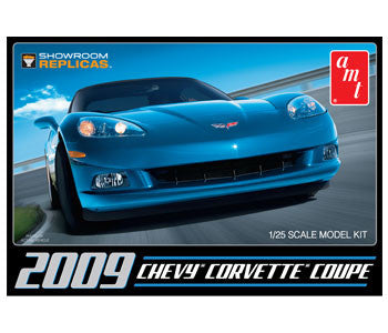 AMT 1/25 scale 2009 Chevy Corvette Coupe - kit#685