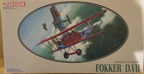 DRAGON 1/48 Fokker D.VII Knights Of The Sky Series #5905-03