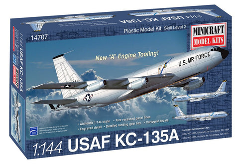 Minicraft 1/144 scale USAF KC-135A #14707