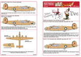 Kits-World decals 1/48 B-24D Liberator 'Prince Charming' & 'Doc' KW148120