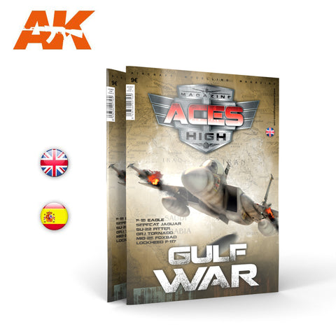 AK Interactive Aces High Magazine Issue 13 GULF WAR - AK2927 - MODERN JETS