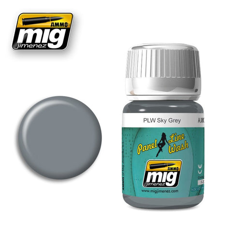 Panel Line Wash Sky Grey AMIG-1607 Ammo Mig Jimenez 35ml