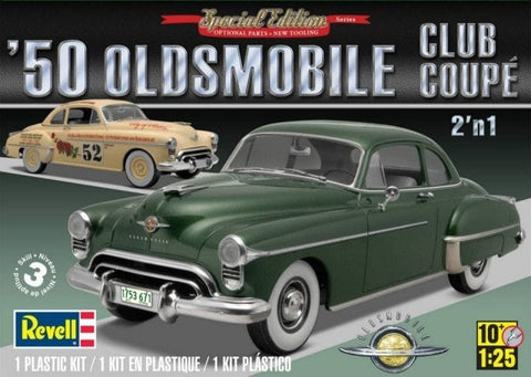 REVELL 1/25 1950 OLDSMOBILE CLUB COUPE 2'n 1 Special Ed