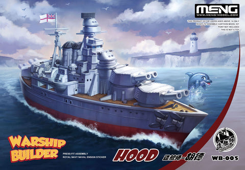 MENG World War II Toons WARSHIP BUILDER - HMS HOOD  - WB-005