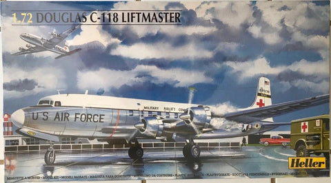 HELLER 1/72 scale Douglas C-118 LIFTMASTER aircraft kit 80317