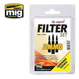 FILTER SET FOR GERMAN TANKS - AMIG7453 - Ammo Mig Jimenez