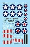 Wolfpack 1/48 Decal F4F Wildcat Part.3 - F4F-3 Wildcats in the Pacific Front