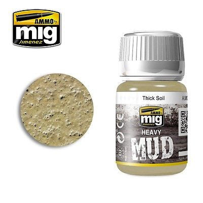 AMMO of Mig Jimenez Heavy Mud THICK SOIL 35ml - AMIG-1701 enamel