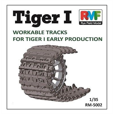 Rye Field Model 1/35 Workable Track for Tiger I Early - RM-5002