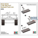 "Rye Field Model 1/35 Workable Track for M1A1 / M1A2 Abrams T-158 ""Big Foot"""
