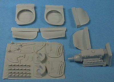 CMK 1/48 Resin Me-410B Engine Set for Tamiya kit - MPN 4008 -Wear visible