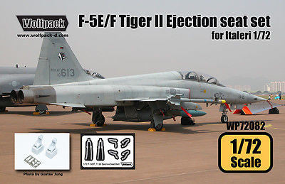 Wolfpack 1/72 Resin F-5E/F Tiger II Ejection seat set for Italeri - WP72082