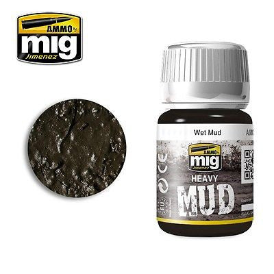 AMMO of Mig Jimenez Heavy Mud WET MUD 35ml - AMIG-1705 enamel