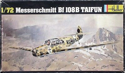 Heller Model kit 1/72 Messerschmitt Bf 108 B Taifun - No decals! No Manufacturer's Box!