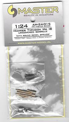 Master Model 1/24 Hawker Typhoon MK IB Uncovered Barrels - AM24-015