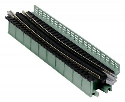"Kato #20-472 N-Gauge Unitrack Deck-Girder Bridge, 19"" 481mm Radius, 15°(gray) 1pc"