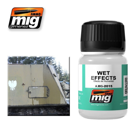 Ammo Mig Jimenez 35ml Enamel - Wet Effects Semi-Gloss AMIG-2015