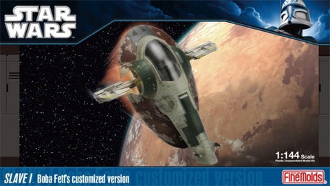 FineMolds 1/144 STAR WARS Slave I Boba Fett's Custom Version - SW-14