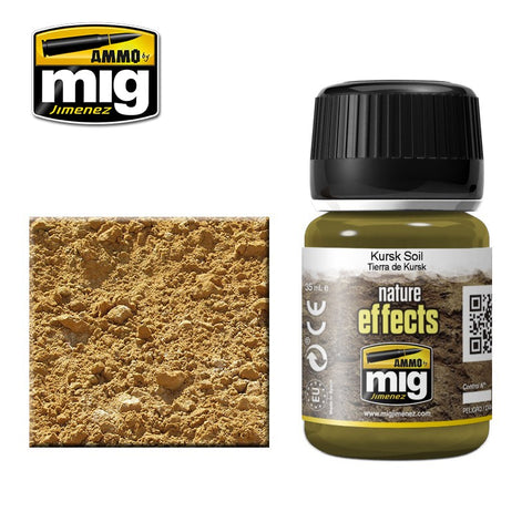 KURSK SOIL - AMIG-1400 Ammo by Mig Enamel type product for nature effects