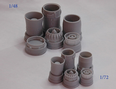 Advanced Modeling 1/48 R25-300 exhaust nozzle for MiG-21bis - AMG48012-3