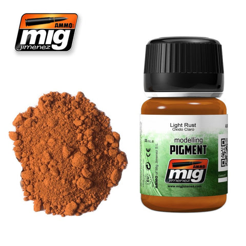 Light Rust Superfine pigment (powder) - A.MIG-3006 by Ammo Mig Jimenez