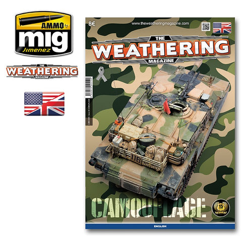 AMMO of Mig Jimenez - The Weathering Magazine TWM ISSUE 20 - CAMOUFLAGE - 4519