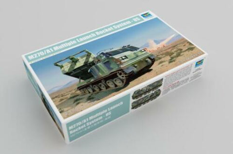Trumpeter 1/35 scale M270/A1 Multiple Launch Rocket System - US - kit 01049