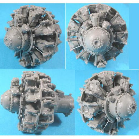 1/32 Vector Resin Pratt & Whitney R-2800 C (late) Engine #VEC-32002