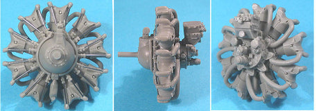 1/32 Vector Resin Wright R-1820-G (late) Engine #32-006
