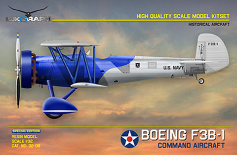 Lukgraph 1/32 scale Boeing F3B-1 Command Aircraft kit -32-08