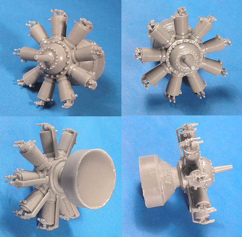 1/32 Vector Resin Clerget 9 WWI Engine #32-014