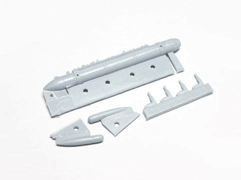 1/32 Wolfpack AN/ALQ-188 Jamming Pod set for 1/32 F-15/F-16 Aggressor - WP32075