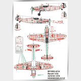 HGW 1/32 Messerschmitt Bf 109G-6 Riveting set Revell - 321019