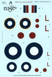 EagleCals #163-32 1/32 decal for FAA Corsairs Royal Navy F4Us