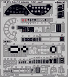 Eduard 1/32 Photoetched F4U-1D interior for Tamiya kit - 32915
