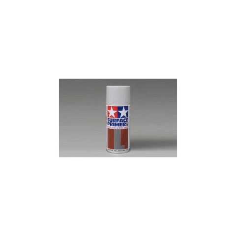 Tamiya Fine Surface Primer L - Gray 180ml Spray Can 87042