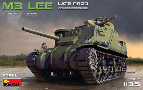 MiniArt 1/35 scale  M3 Lee Late Production #35214