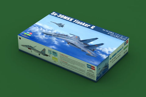 Hobby Boss 1/48 scale model kit Su-30MKK Flanker G - 81714