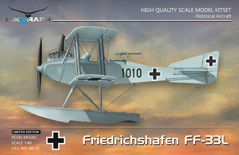 Lukgraph 1/48 resin kit Friedrichshafen FF-33L In German Service 48-05