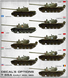 MiniArt 1/35 scale T-55A EARLY Mod. 1965 - model kit #37057