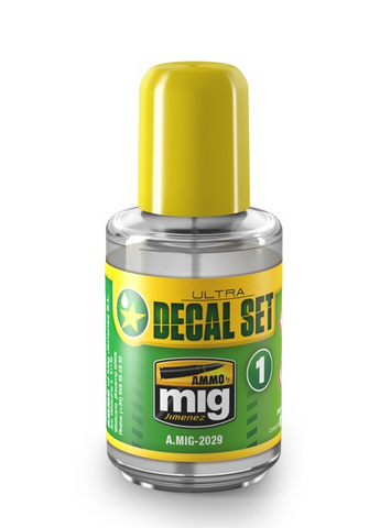 Ammo of Mig Jimenez ULTRA DECAL SETTING solution for plastic models 30mL A.MIG2029