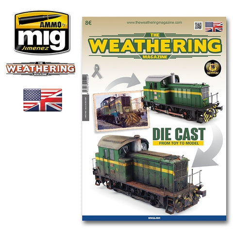 AMMO by Mig Jimenez The Weathering Magazine #23 DIE CAST From Toy to Model 4522