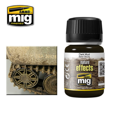 DARK MUD - AMIG-1405 Ammo by Mig Enamel type product for nature effects