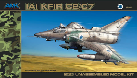 AMK Models 1/48 AvantGarde kit Kfir C2/C7 - #88001