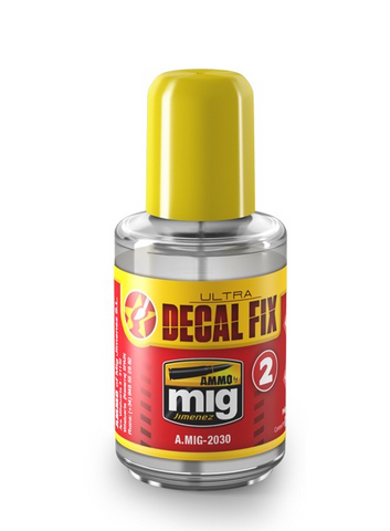 Ammo of Mig Jimenez ULTRA DECAL FIX solution for plastic models 30mL A.MIG2030