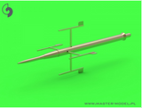 Master Model 1/48 F-16XL / F-CK-1 prototype Pitot Tube & Angle Of Attack probes